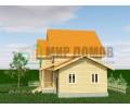 ПД85 Проект 1,5- этажного дома из бруса 8х12 м. 145.5 кв.м.